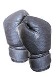 Czarna bokserska rękawiczka obrazy royalty free