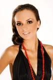 czarna brunetka Fotografia Stock