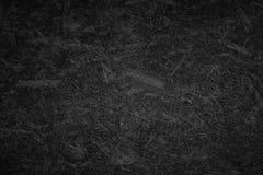 Czarna chipboard tekstura Zdjęcie Stock