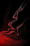 czarna czerwony Obrazy Royalty Free