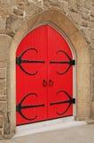 czarna czerwony Fotografia Royalty Free