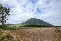 Czarna damy góra, Tay Ninh prowincja, Wietnam (Nui półdupków melina) zdjęcia royalty free