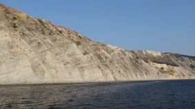 Czarna dennego wybrzeża Łysa rockowa góra zbiory wideo