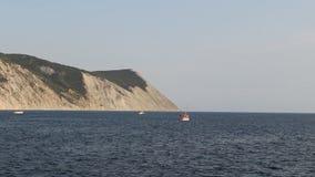 Czarna dennego wybrzeża Łysa rockowa góra zdjęcie wideo