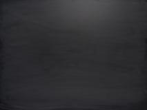 Czarna deska z śladami kreda Zdjęcia Royalty Free