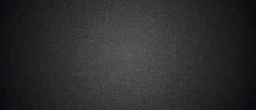 Czarna drelichowa cajg tekstura Fotografia Stock