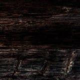 Czarna drewniana tekstura, zamyka up drewniana ściana backgroun abstrakcyjne Obraz Stock
