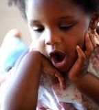 czarna dziewczyna Zdjęcie Royalty Free