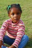 czarna dziewczyna, fotografia stock