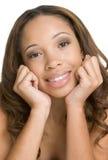 czarna dziewczyna, Zdjęcia Royalty Free
