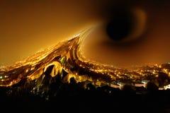Czarna dziura Obrazy Stock