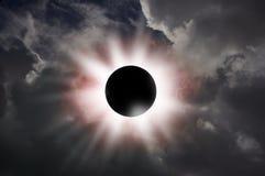 Czarna dziura Zdjęcia Stock