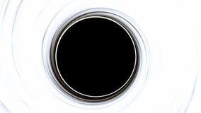 Czarna dziura, astronautyczny wykoślawienie, anomalia, wysoka masa, ten wizerunku elementy meblujący NASA obraz stock