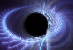 czarna dziura, przestrzeń Obraz Royalty Free
