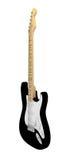 Czarna gitara elektryczna Fotografia Stock
