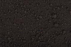 Czarna glebowa tekstura zdjęcie royalty free