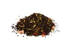 Czarna herbata Fotografia Royalty Free