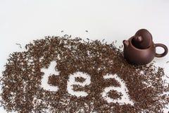 czarna herbata Obraz Stock