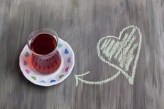 czarna herbata obrazy stock