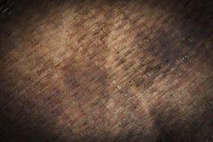 Czarna i brown drewniana ściana Obrazy Royalty Free