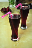 czarna jagoda sok Obrazy Stock