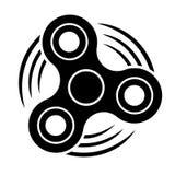 Czarna kądziołek ikona zdjęcie stock