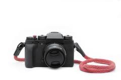 Czarna kamera obraz stock