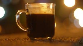 czarna kawa Zdjęcie Stock