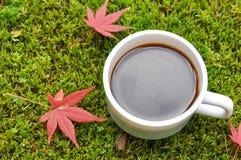czarna kawa Fotografia Stock