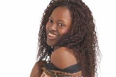 czarna kobieta Fotografia Royalty Free