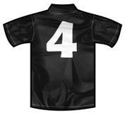Czarna koszula cztery Zdjęcie Royalty Free