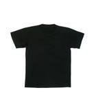 Czarna koszula odizolowywająca zdjęcia royalty free
