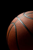 czarna koszykówki Obraz Stock