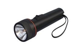 czarna latarka Zdjęcia Stock