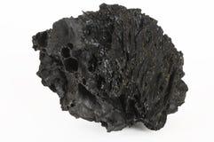 czarna lawy skała fotografia stock