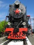 czarna lokomotywy pary Obrazy Royalty Free
