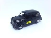 Czarna Londyńska taksówka obrazy stock