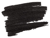 Czarna markier farby tekstura ilustracji