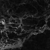 Czarna marmurowa podłoga deseniująca dla tło tekstury Obraz Stock