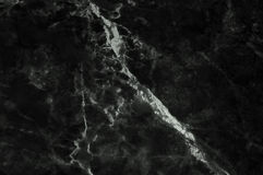 Czarna marmurowa tekstura strzelał z subtelny biały fladrować fotografia stock