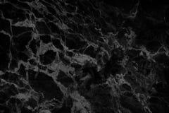 Czarna marmurowa tekstura w naturalnym wzorze, czerni kamienna podłoga obraz royalty free