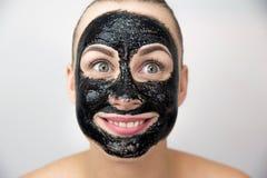 czarna maska Obrazy Stock