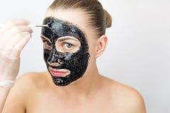 czarna maska Obraz Royalty Free