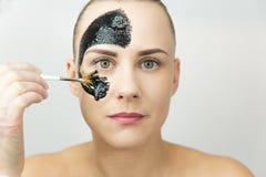 czarna maska Zdjęcie Royalty Free