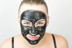 czarna maska Zdjęcia Royalty Free