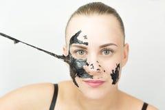 czarna maska Zdjęcia Stock