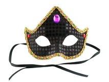 czarna maska karnawał zdjęcie stock