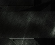 Czarna metalu tła tekstura ilustracja wektor