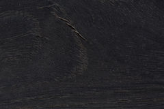 Czarna naturalna drewniana tekstura Zdjęcia Stock