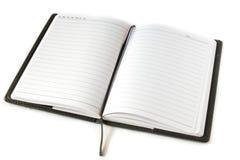 Nutowa książka otwarta Zdjęcia Royalty Free